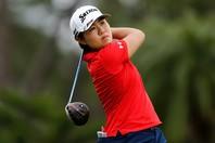 国内女子ツアーで5勝、米女子ツアーで3勝を挙げる畑岡奈紗は、「東京五輪が中止にならなかったことはよかったですね」と語った<br /> 。(C)Getty Images