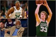 NBA最多17回の優勝を誇る名門、セルティックスのベスト5の顔ぶれは?(C)Getty Images