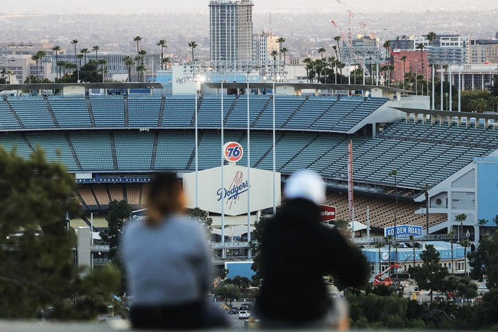 """選手会からシーズン開幕に向けた""""現実案""""が提案されたが、果たしてどうなる?(C)Getty Images"""