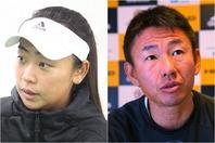 アドバイスしてくれた穂積絵莉(左)と鈴木貴男(右)。写真:THE DIGEST写真部