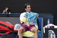 トッププロの試合に必ず登場する大判タオル。そのサイズは通常のバスタオルよりも大きめで、多量の汗にも対応できる。写真:山崎賢人(THE DIGEST写真部)
