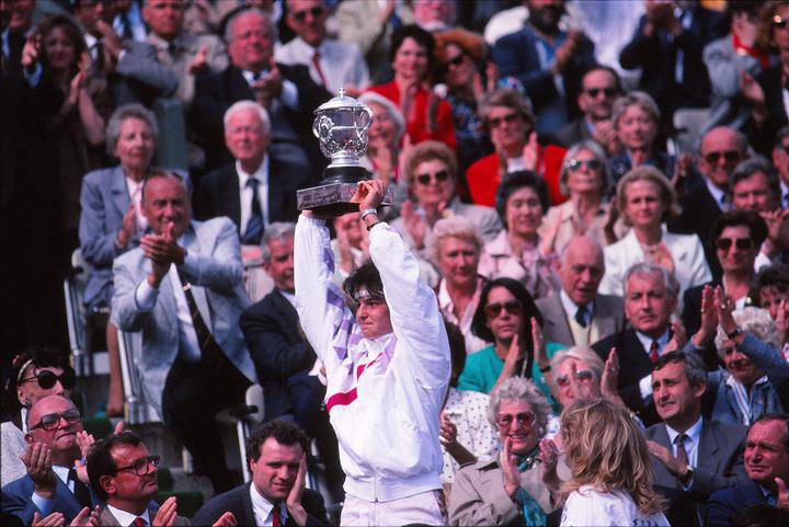 当時、グラフが持つ最年少記録を塗り替えての優勝となったサンチェス。写真:THE DIGEST写真部