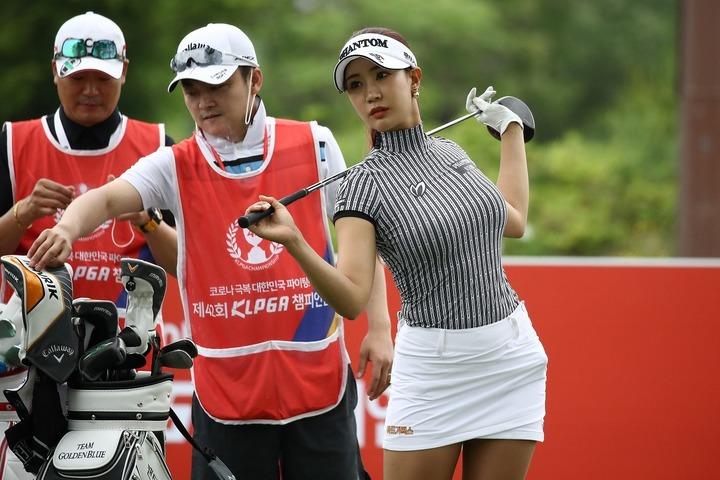 2大会連続で苦杯を舐めたユ・ヒョンジュ。週末の済州島での巻き返しを期す。(C)Getty Images