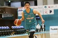 2020-21シーズンよりKBLへの挑戦が決定した中村太地。(C)B.LEAGUE