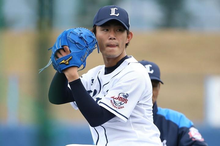 岩本氏は前回、西武を4位と予想していたが、今回は2位。練習試合で今井をはじめとする若手投手の台頭が著しかったことが理由だ。写真:滝川敏之