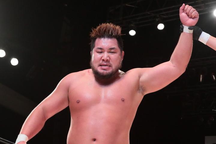 1回戦に勝利したマサ北宮は、挑戦者決定トーナメント後に待つ中嶋勝彦を挑発した。