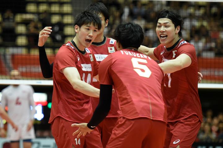 バレーボール男子日本代表の合宿が再開された。(C)Getty Images