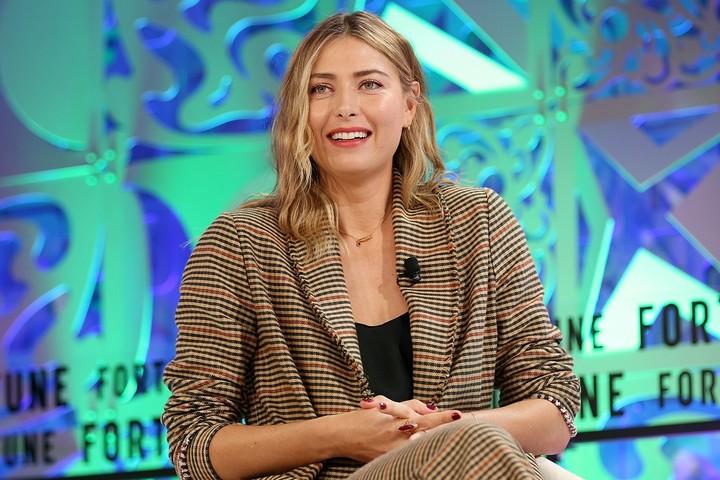 シャラポワさんが父の日に公開した親子ツーショットにファンが称賛のコメントを寄せた。(C)Getty Images