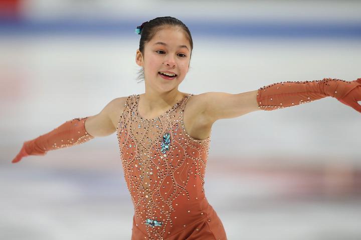 14歳のリュウは全米フィギュアで2連覇を成し遂げるなど、未来の女王候補の1人だ。(C)Getty Images