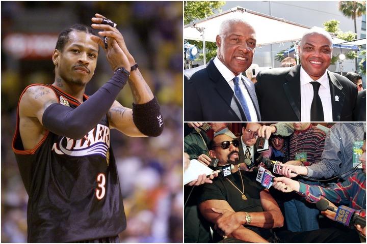 アイバーソン、ドクターJ、バークレー、チェンバレン。76ersは個性と実力を兼ね備えたスーパースターを数多く輩出してきた。(C)Getty Images