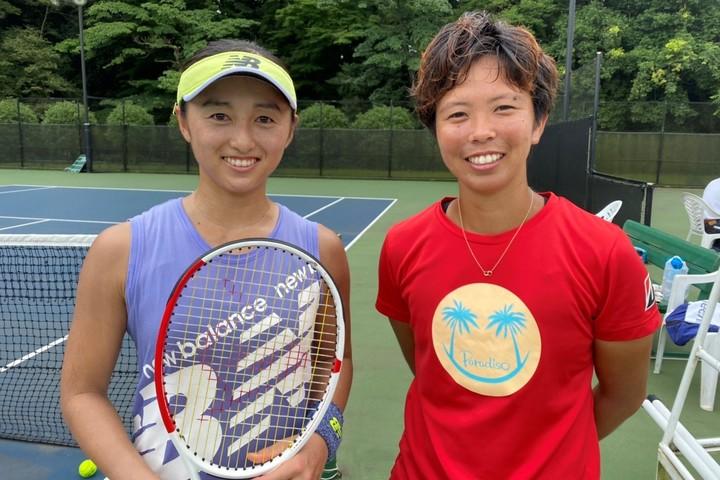土居(左)と井上(右)の2人が中心となり動き出したエキジビションマッチ『ONE IROS――わんいろ――』の開催日が7月9日に決まった。写真:土居美咲