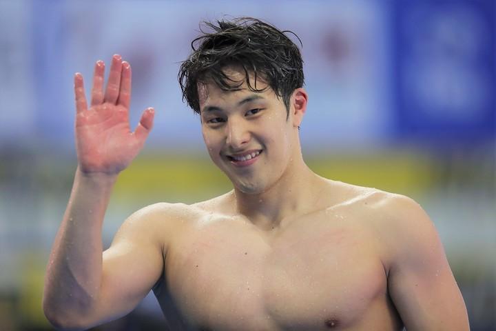 競泳日本のエース瀬戸大也は、アリーナと共同でオンライン水泳大会を開催することを決めた。(C)Getty Images