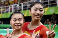 全日本選手権への意気込みをコメントした杉原(左)と内山(右)。(C)Getty Images