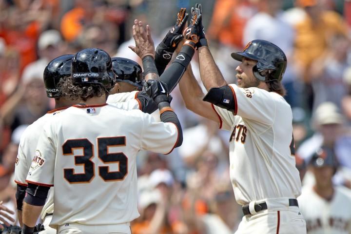 以前から打撃には定評があったバムガーナー。この年は4本塁打を放ってシルバースラッガー賞を受賞した。(C)Getty Images
