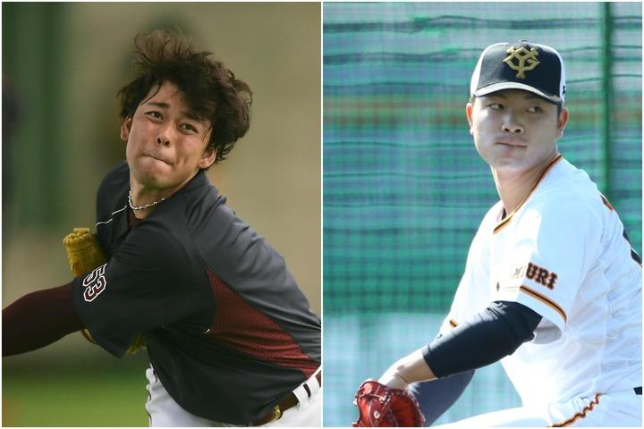 高梨(左)と高田(右)の交換トレードが成立した。写真:金子拓弥(THE DIGEST写真部)