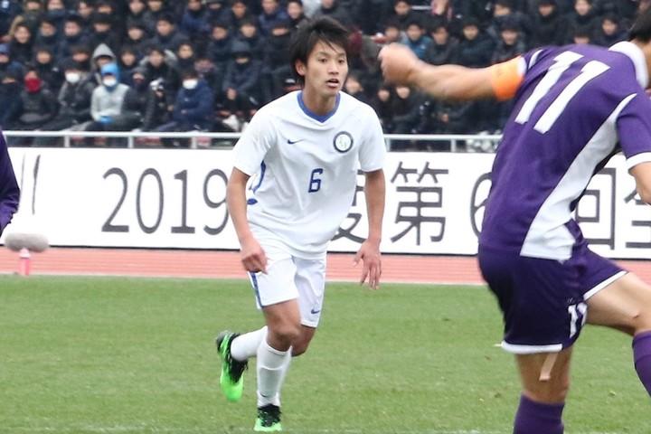 桐蔭横浜大の橘田は、卒業後に川崎に進むことが決まっている。写真:小室功