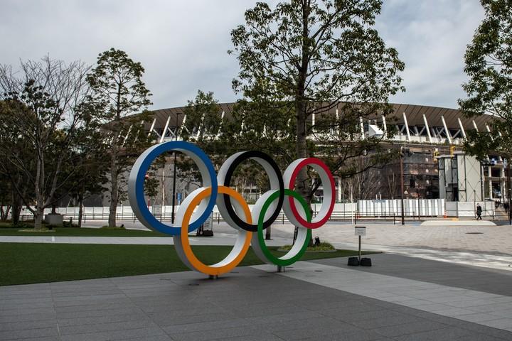 東京2020組織委員会は、1年前イベントでライブ配信を行うと発表した。(C)Getty Images