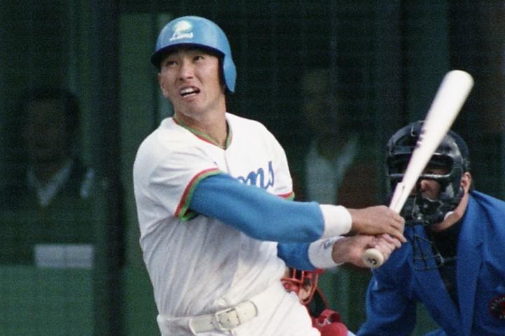 甲子園通算史上最多の13本塁打を放った清原は、プロ1年目もその打棒を発揮を存分に発揮した。写真:産経新聞社