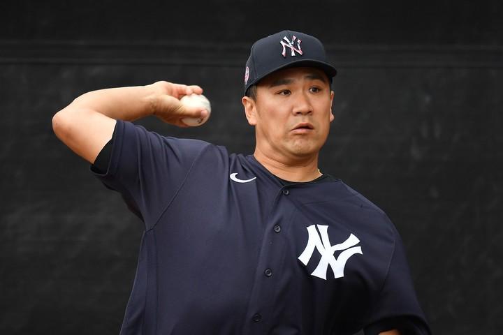 打球直撃は幸い大事に至らなかったとみられる田中だが、ヤンキースは登板を急がせないようだ。写真:Getty Images