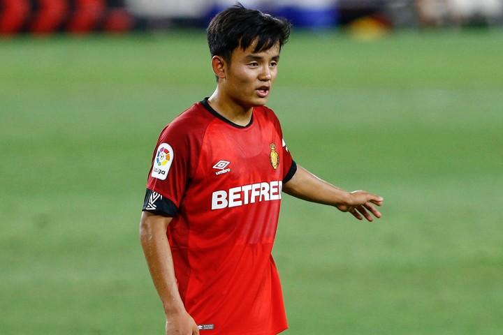 久保は35試合に出場して4ゴール・4アシストを挙げたが、チームは無念の2部降格となった。(C)Getty Images