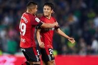 久保は今季のマジョルカで、35試合4ゴール4アシストという記録を残した。(C)Getty Images