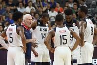 """スター選手に辞退者が続出し""""Bチーム""""でワールドカップに臨んだアメリカは、あっけなく準々決勝で敗れた。(C)Getty Images"""
