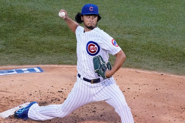 ダルビッシュは「四球を出さず三振を奪う男」としてメジャーに君臨している。(C)Getty Images