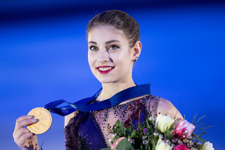 北京五輪を前にトゥトベリーゼ氏との師弟関係を解消したコストルナヤ。(C)Getty Images