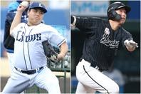 平良(左)は開幕から10登板続けてヒットを許さず、安田(左)は4番に抜擢されてから上昇気流に乗っている。写真:金子拓弥(THE DIGEST写真部)、産経新聞社