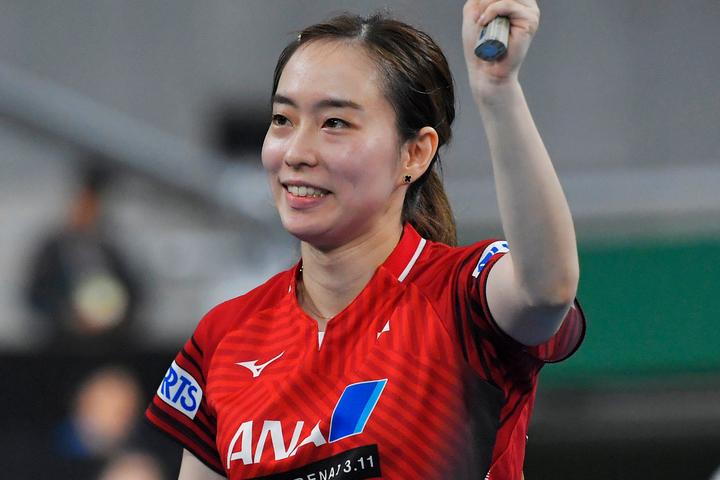 来年の東京五輪代表に内定している石川。爽やかな私服ショットでファンの注目を集めた。(C)Getty Images