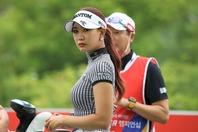 先週末のトーナメントで存在を大いに示したユ・ヒョンジュ。次戦での躍進を期す。(C)Getty Images