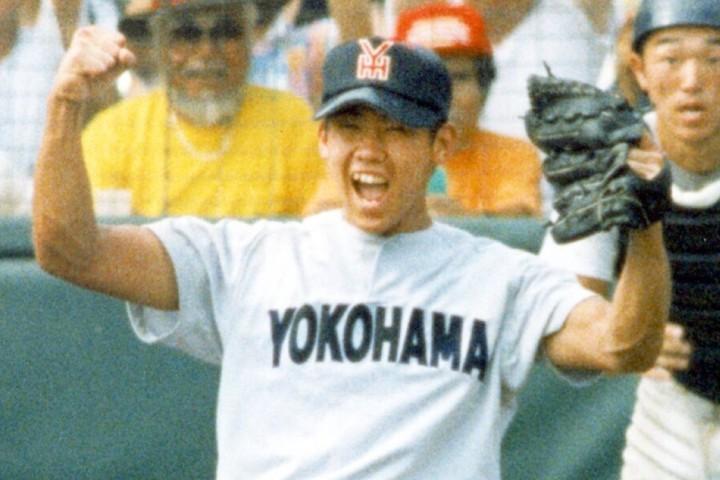 """98年夏、決勝戦でノーヒットノーランを達成した松坂は""""怪物""""だった。写真:産経新聞社"""