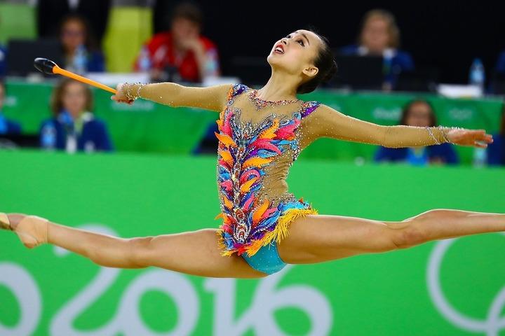 リオ五輪で総合4位に入ったソンヨンジェさん。現在もその美貌は健在だ。(C)Getty Images