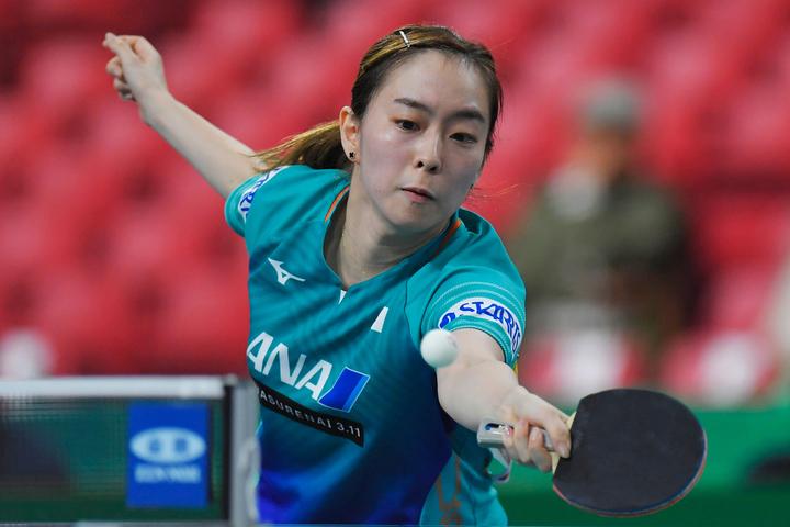 日本女子のエースとして長年君臨してきた石川。来年の東京五輪ではロンドン、リオに続くメダル獲得を目指す。(C)Getty Images
