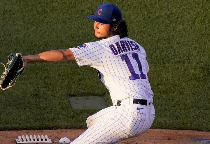 圧巻の投球を続けるダルビッシュを韓国メディアが絶賛した。(C)Getty Images