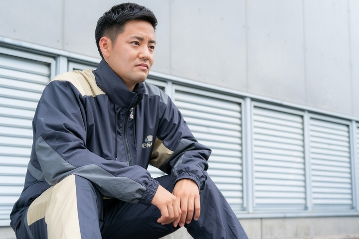 守屋はツアー中断の間、自分のテニスを分析し見つめなおす時間にあてていた。写真:田中研治
