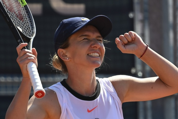 2大会連続で優勝したハレップ。全米オープンは欠場となるがヨーロッパシーズンでの活躍が期待される。(C)Getty Images