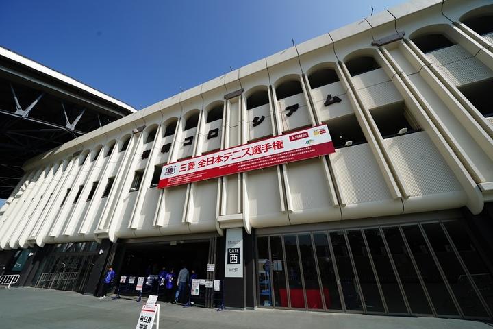 国内最高峰の全日本選手権が開催されることが決まった。選手やテニスファンには朗報だ。写真:山崎賢人(THE DIGEST写真部)