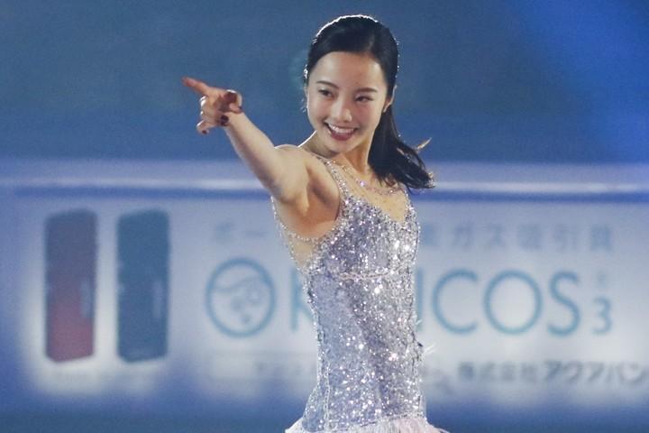"""8月21日に19歳を迎える本田真凜が、可愛すぎる""""ゲレンデショット""""を公開した。(C)Getty Images"""
