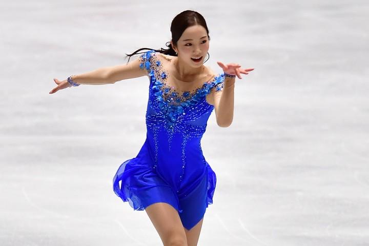 8月21日、19歳の誕生日を迎えた本田真凜。(C)Getty Images