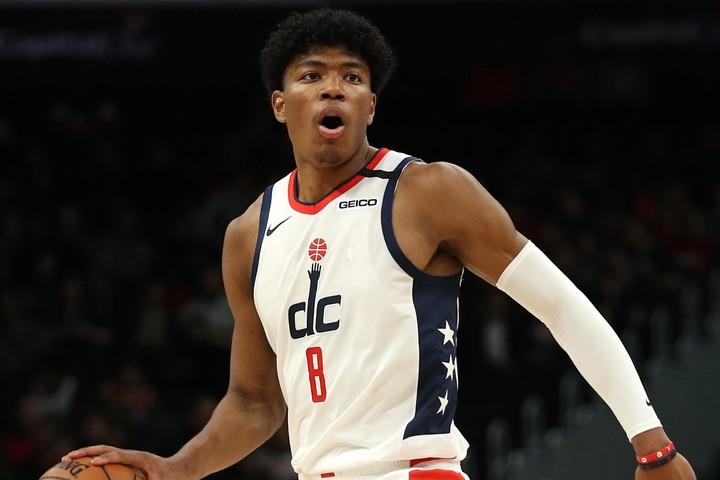 前作に続いて「NBA 2K」のオフィシャルアンバサダーに就任した八村。(C)Getty Images
