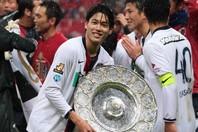 内田は鹿島での在籍7年間で5つのタイトル獲得に貢献した。(C)SOCCER DIGEST