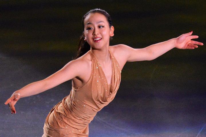 現役引退からおよそ3年。いまだ絶大な人気を誇る浅田さん。(C)Getty Images