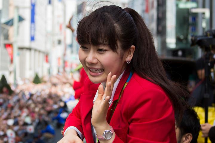 2018年に現役引退し、現在31歳の福原愛さん。台湾でも絶大な人気を集める。(C)Getty Images