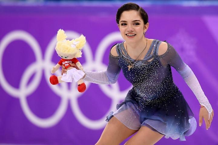 いまだモスクワに滞在中のメドベージェワ。競技への本格復帰を果たせる日はいつか。(C)Getty Images