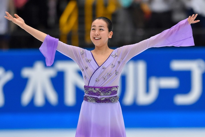 """浅田さんが華麗な""""鍋振り姿""""を披露し、注目を集めている。(C)Getty Images"""