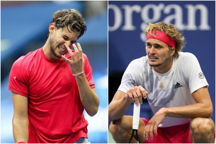 ティーム(左)、ズべレフ(右)の決勝での戦いぶりに、厳しい声が上がっている。(C)GettyImages
