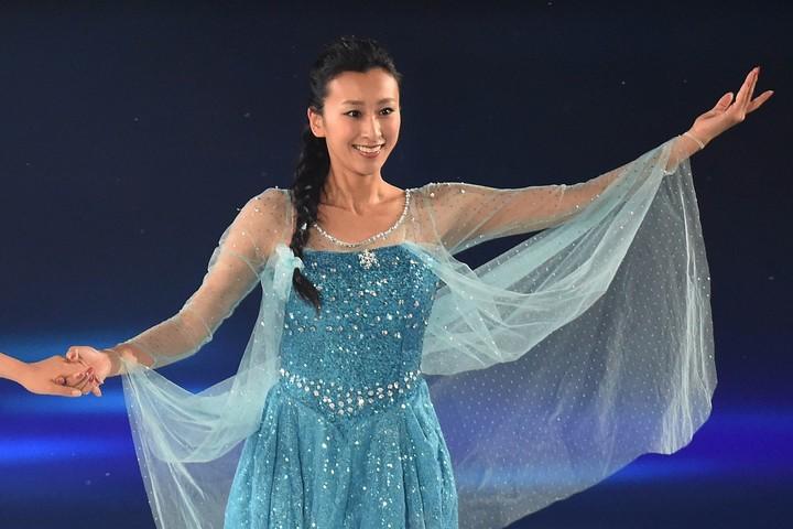 浅田舞さんが、所属事務所IMGから独立したことを発表した。(C)Getty Images