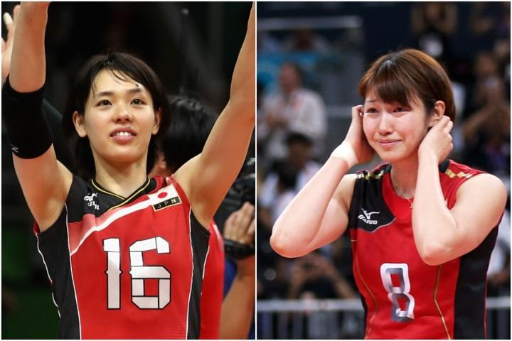 狩野舞子さん(右)が公開した、迫田さおりさん(左)との2ショットが話題!(C)Getty Images