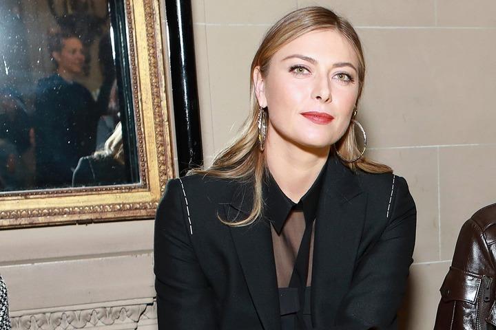 """インスタで在宅勤務中の""""ファッション""""を発信したシャラポワさん。切り口が斬新だ。(C)Getty Images"""